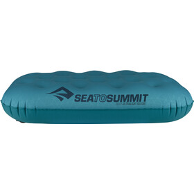 Sea to Summit Aeros Ultralight Kussen Deluxe, aqua
